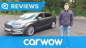 ford mondeo vignale 2017 saloon review mat watson reviews youtube