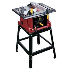 bench for circular saw 10 in 15 amp benchtop table saw