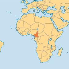 Image Of World Map Cameroon Operation World