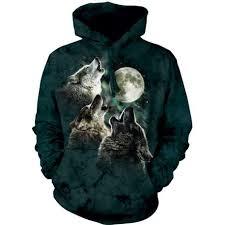 three wolf moon hoodie clothingmonster com