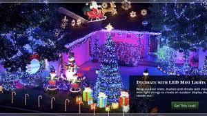 lawn lights chritsmas decor