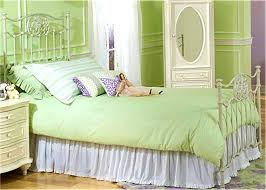 Green Bed Sets Uncategorized Fascinating White Iron Bed Appealing Green Bedding