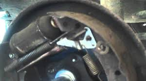 my renault clio rear brakes are jammed on replace the brake shoes