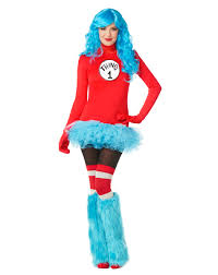 womens nerd halloween costumes thing 1 dress womens costume at spirit halloween stir up