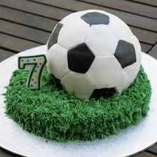 soccer cake ideas make a soccer cake for a soccer birthday party or a world cup