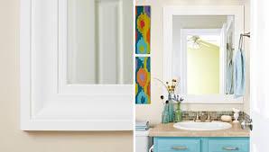 bathroom mirror decorating ideas ideas for decorating a bathroom mirror frames bathroom decor