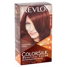 revlon colorsilk 48 burgundy permanent hair color 1 0 kit