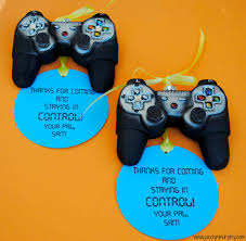 jac o u0027 lyn murphy stay in control christmas video game party favor