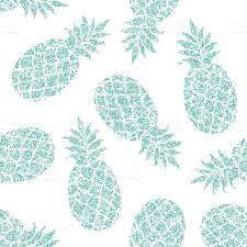 pineapple wrapping paper pineapple vector seamless pattern for textile scrapbooking or