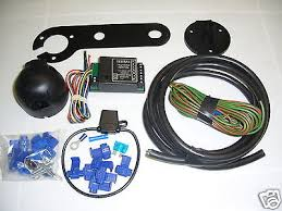 jaguar s type single 7 pin electric towbar wiring kit including