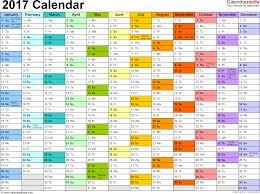 Editorial Calendar Template Excel 2017 Calendar Excel Printable 2017 Calendars