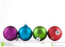 Christmas Decorations Blue And Purple by Blue And Green And Red Christmas Ornaments Royalty Free Stock