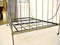 Wrought Iron Daybed L Shaped Bed Frame White Metal Twin Daybed With Trundle Best Home