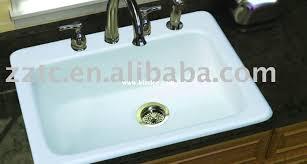 Enamel Cast Iron Sink Inspiration Kaf Mobile Homes - Enamel kitchen sink