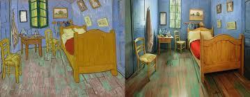 van gogh bedroom painting museum recreates van gogh s bedroom painting and puts it on airbnb