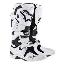 dirt bike boots lightshoe u2013 alpinestars tech10 boot steel shoe package