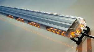 warning light bar amber ex razor 50 led lightbar amber emergency vehicle lighting led strobe