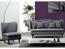 canapé tissu noir canapé tissu richard fauteuil gris ou noir
