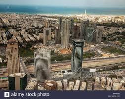 aerial view tel aviv israel stock photo royalty free image