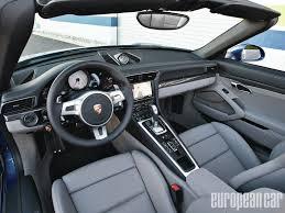 porsche stinger interior 2013 porsche 991 carrera 4 european car magazine