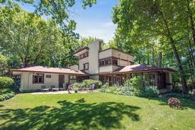 Frank Lloyd Wright Style Houses Frank Lloyd Wright Home In Glencoe Up For Sale Residential News