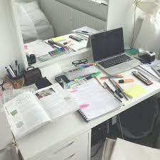 Back To School Desk Organization Pinterest Baddiebecky21 Bex Study Pinterest
