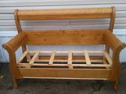 Bench Made From Bed Headboard 38 Best Bed Bench Images On Pinterest Bed Bench 3 4 Beds And
