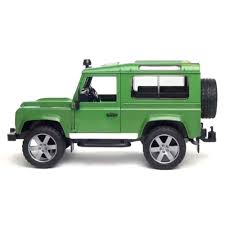 green land rover bruder toys land rover defender with trailer excavator and