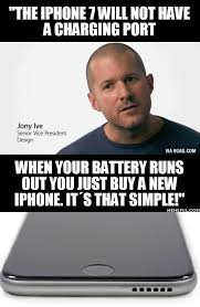 Battery Meme - when your battery runs out you just buy a new iphone justpost
