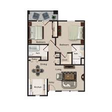 senior apartment floor plans echelon of tucson senior living