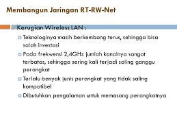 pengalaman membuat rt rw net alasan membangun rt rw net ppt download
