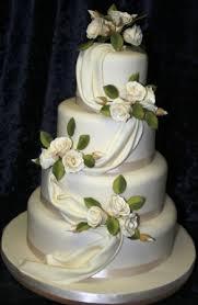 floral cascade by penn wedding cakes at hampden house nr great