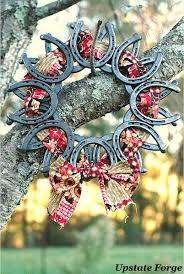 horseshoe wreath best 25 horseshoe wreath ideas on horseshoe