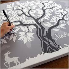 wedding signing book tree wedding guest book fast shipping free pens for signing