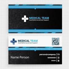 Medical Business Card Design Medical Business Card Design Vector Free Download