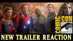 avengers infinity war trailer leaked reaction san diego comic