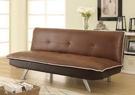 Armless Sofa Beds Chocolate U0026 Dark Brown Faux Nubuck Sofa Bed Futon Caravana Furniture