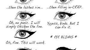 Eyeliner Meme - found on tumblr the eyeliner tragedy imgur