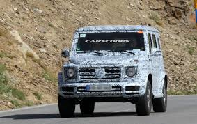 mercedes g wagon new 2018 mercedes g class mule looks the same but it u0027s far from it