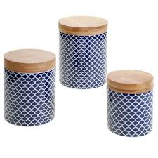 cobalt blue kitchen canisters tboots us blue kitchen canisters jars youll love wayfair