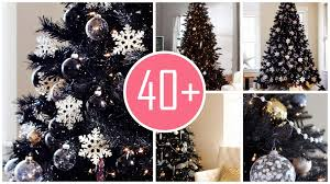 black xmas tree decorated best 25 black christmas trees ideas on