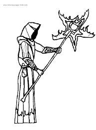 wizward witch magic color fantasy medieval
