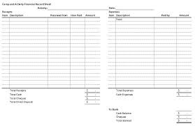 activity log template excel