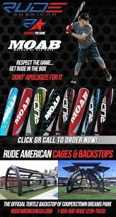 rude american staz destout and rude american bats a great small business and