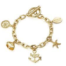 gold lucky charm bracelet images Costume jewellery bracelets friendship bracelets buckley london jpg