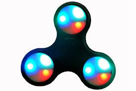 Light Up Fidget Spinner Assorted Each