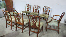 Chippendale Dining Room Furniture Antique Chippendale Chairs Ebay