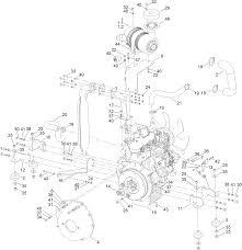 toro parts u2013 ct2240 compact triple 4 wheel drive turf mower