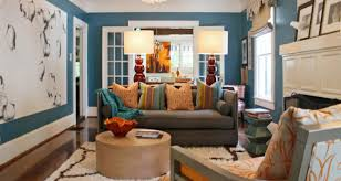 Gray And Brown Paint Scheme Living Room Gratifying Blue And Tan Living Room Colors Enrapture