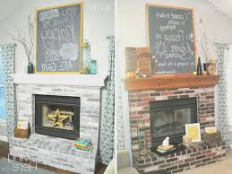 fireplace awesome 70s fireplace makeover style home design top